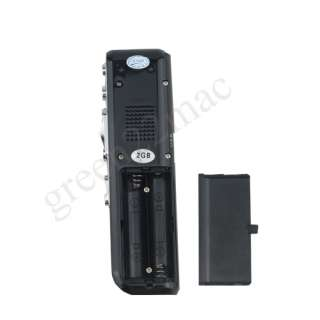 VOICE ACTIVATED 2GB DIGITAL VOICE RECORDER DICTAPHONE