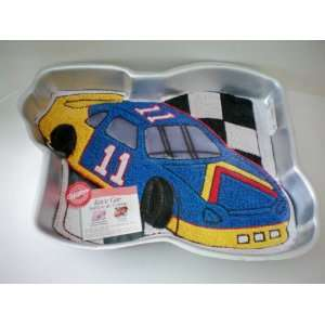 Wilton Race Car / Her Birthday Whirl Cake Pan w/ Label and